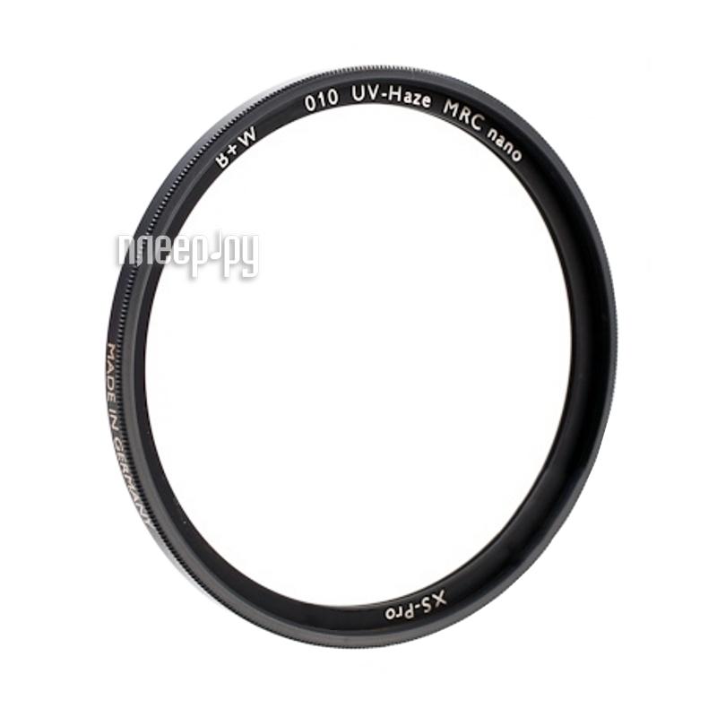 Светофильтр B+W 010 XS-Pro UV-HAZE MRC Nano 72mm (1066124)  Pleer.ru  3609.000