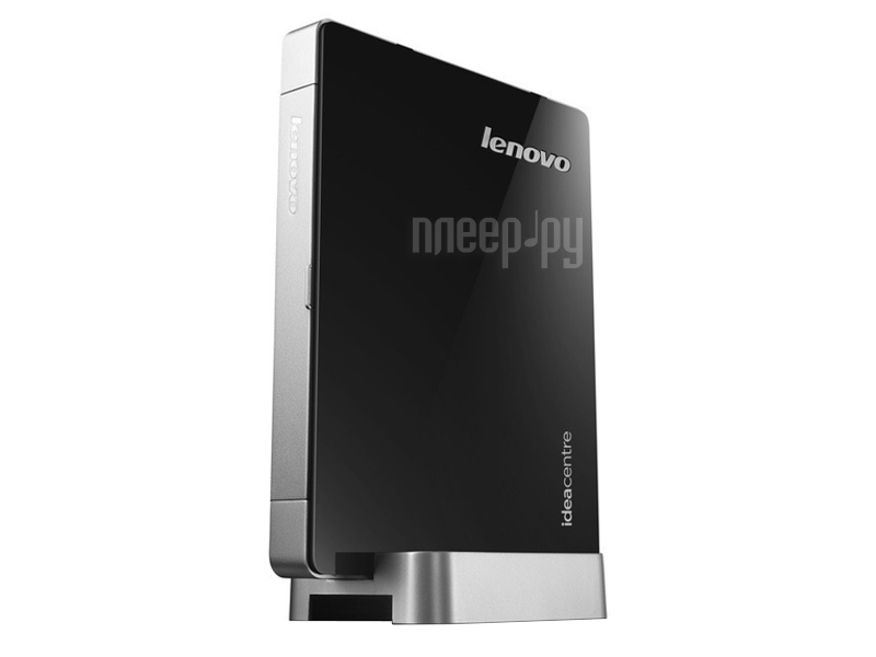 Неттоп Lenovo IdeaCentre Q190 57316619 (Intel Celeron 1017U 1.6 GHz/4096Mb/500Gb/No ODD/Intel HD Graphics/Wi-Fi/Windows 8 64-bit)  Pleer.ru  13887.000