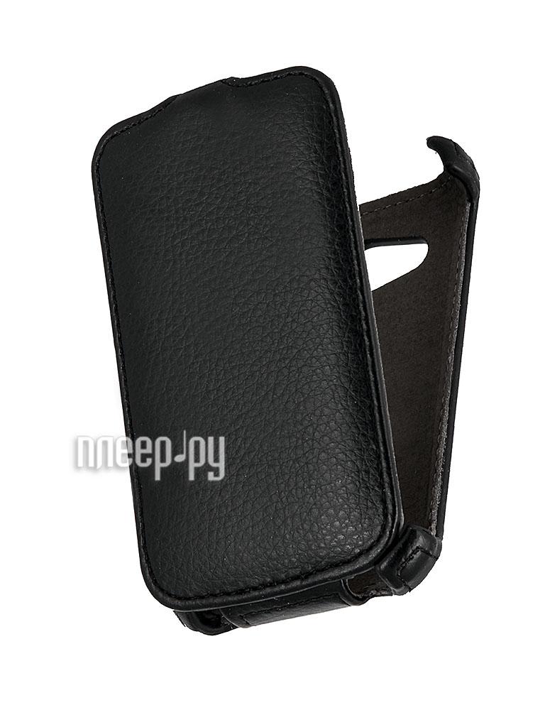 Аксессуар Чехол HTC Desire 200 Aksberry / Gecko / iBox Premium Black  Pleer.ru  229.000