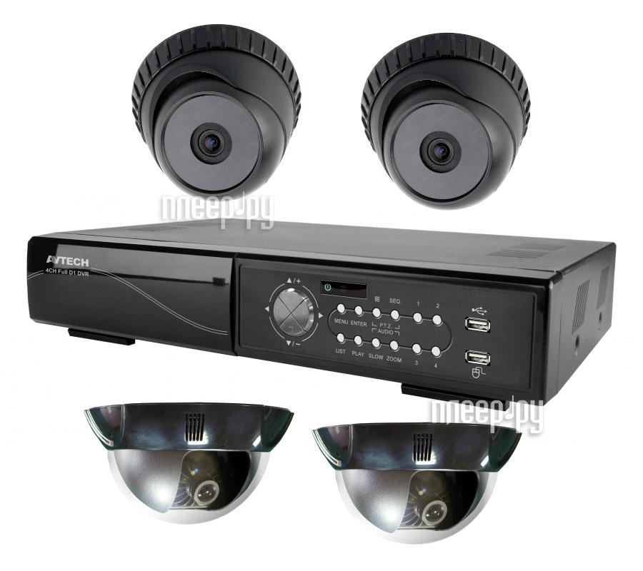 Видеонаблюдение AVTech Home  Pleer.ru  9708.000