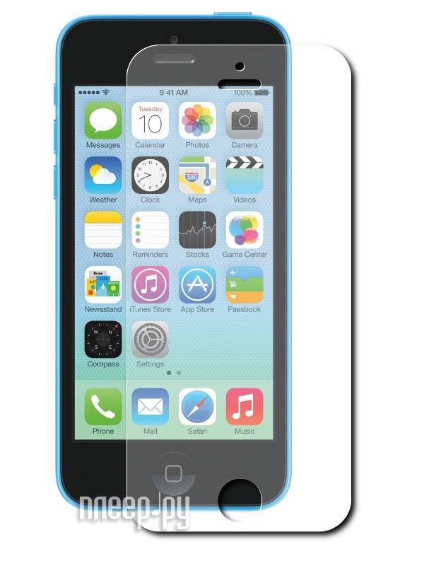 Аксессуар Защитная пленка Ainy for iPhone 5C глянцевая  Pleer.ru  533.000