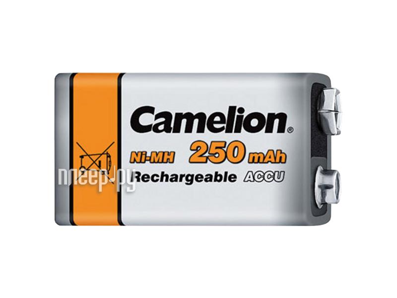 Аккумулятор КРОНА - Camelion NH-9V250BP1 9V 250 mAh Ni-MH  Pleer.ru  475.000