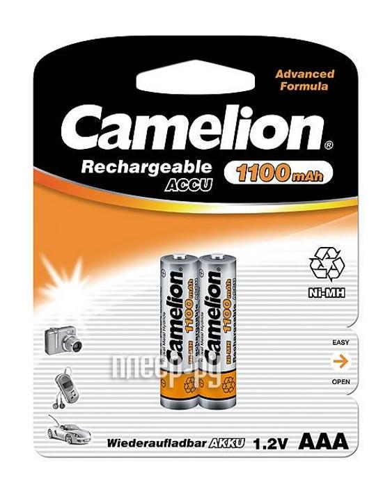 Аккумулятор AAA - Camelion NH-AAA1100BP2 1100 mAh Ni-MH (2 штуки)