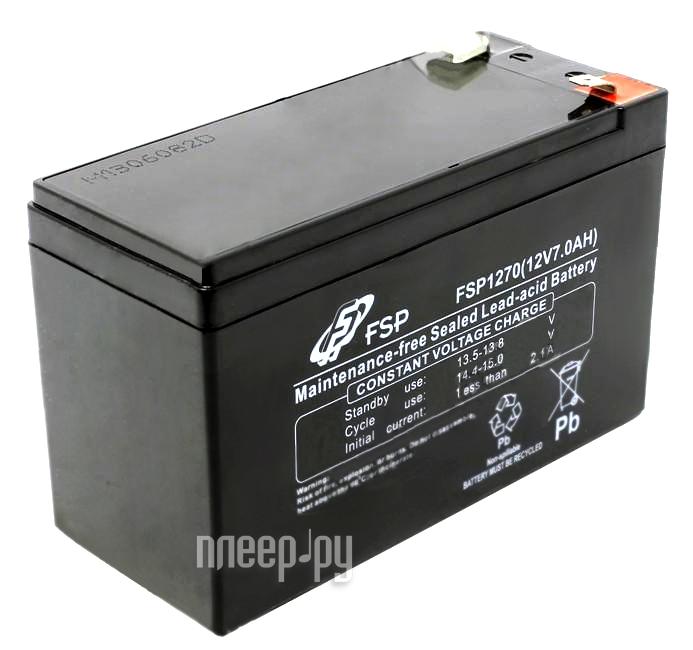 Аккумулятор FSP 12V 7Ah  Pleer.ru  578.000