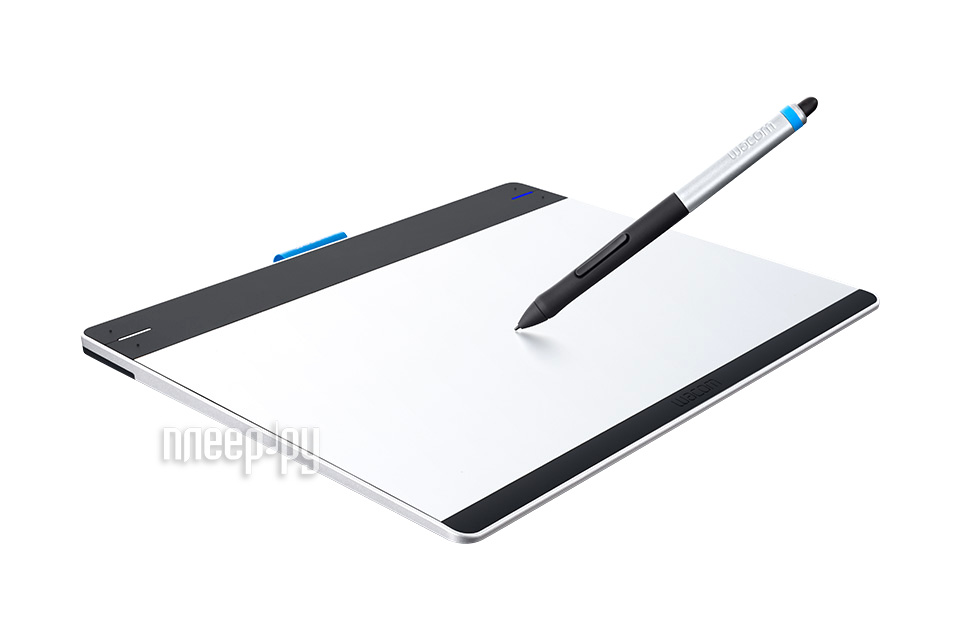 Графический планшет Wacom Intuos Pen & Touch Small CTH-480S-RUPL  Pleer.ru  4897.000