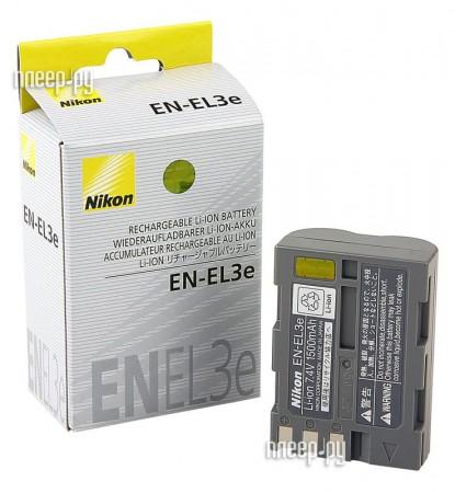 Аккумулятор Nikon EN-EL3e  Pleer.ru  2551.000