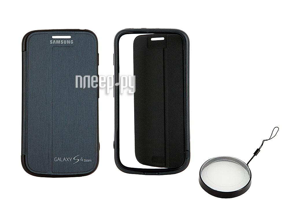 Аксессуар Чехол Samsung SM-C101 Galaxy S4 Zoom EF-GGS10FBEGRU Black  Pleer.ru  497.000