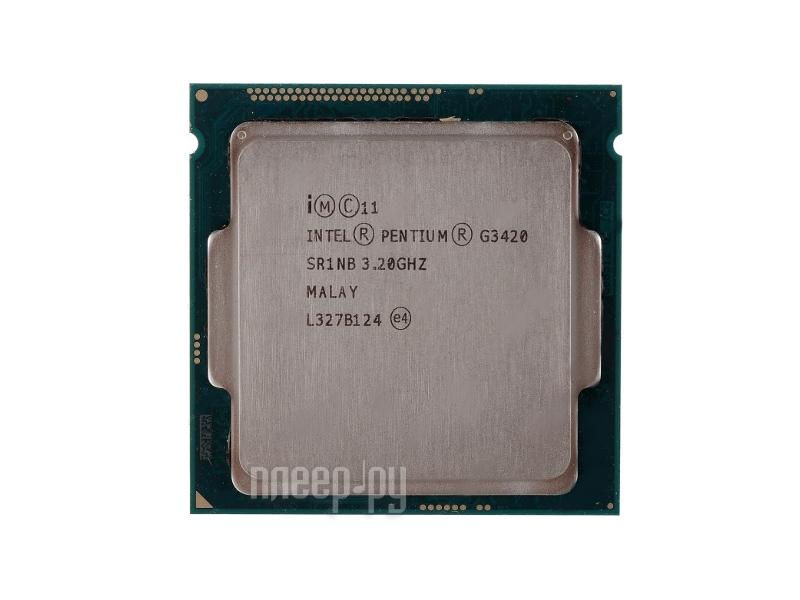 Процессор Intel Pentium G3420 Haswell (3200MHz/LGA1150/L3 3072Kb)  Pleer.ru  2567.000