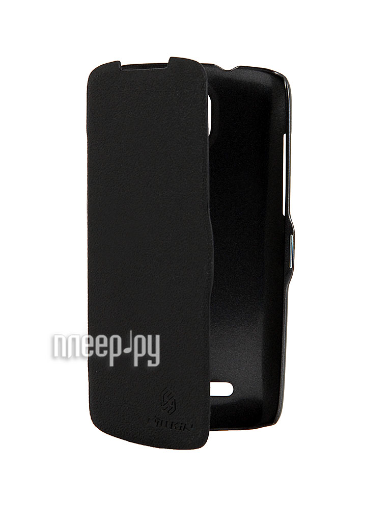 Аксессуар Чехол HTC Desire 500 Nillkin Fresh Series Black  Pleer.ru  401.000