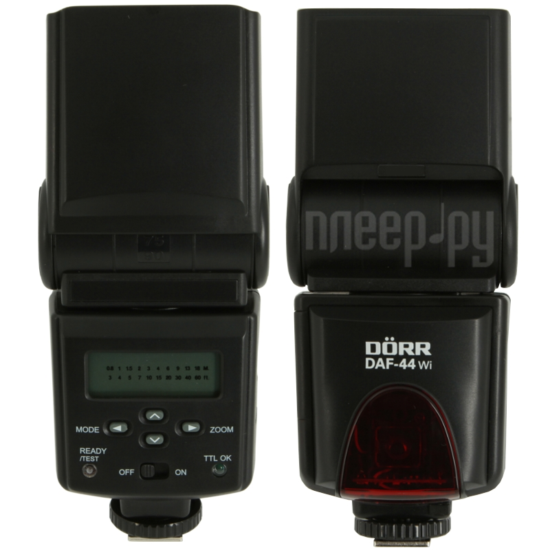 Вспышка Doerr D-AF-44 Wi Power Zoom Flash Canon (D371061)  Pleer.ru  4098.000