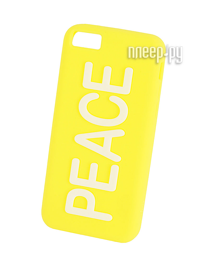 Аксессуар Чехол PURO for iPhone 5C Night Glow Yellow IPCCPEACEYEL  Pleer.ru  397.000