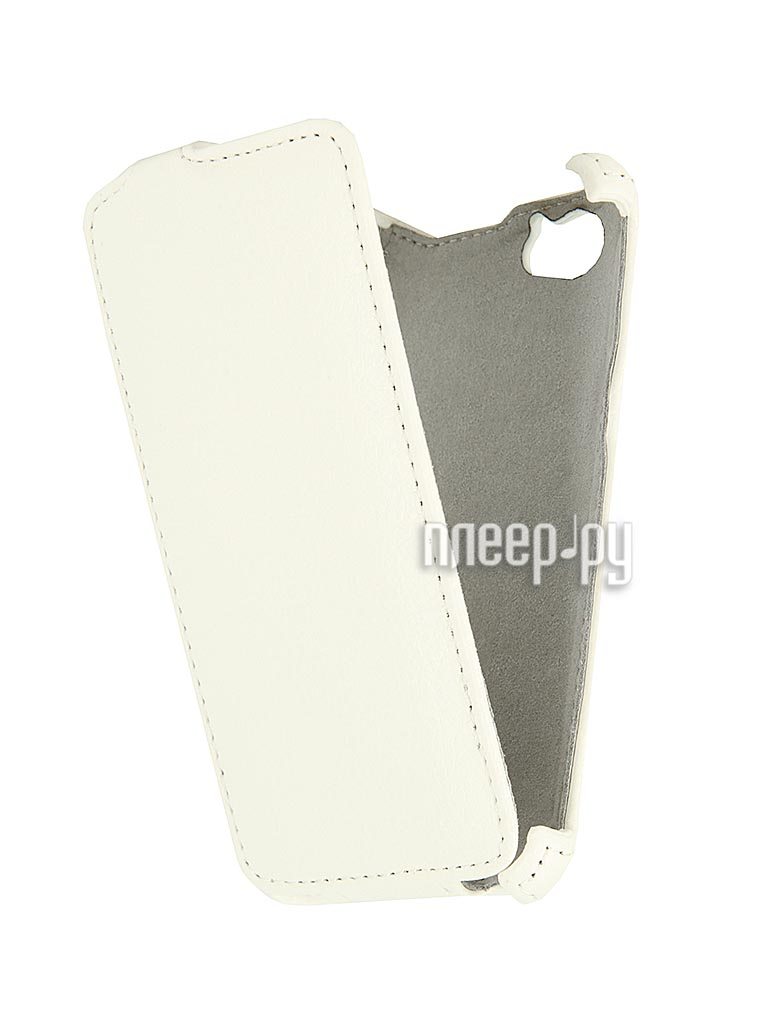 Аксессуар Чехол Sony C2005 Xperia M / Xperia M Dual Aksberry / Gecko White  Pleer.ru  1129.000
