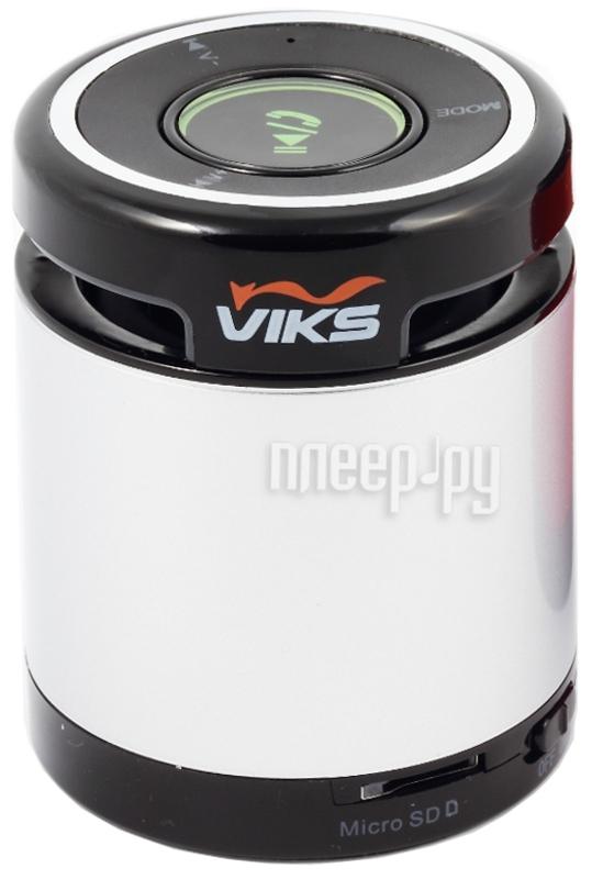 Колонка VIKS VS-BT10S Silver
