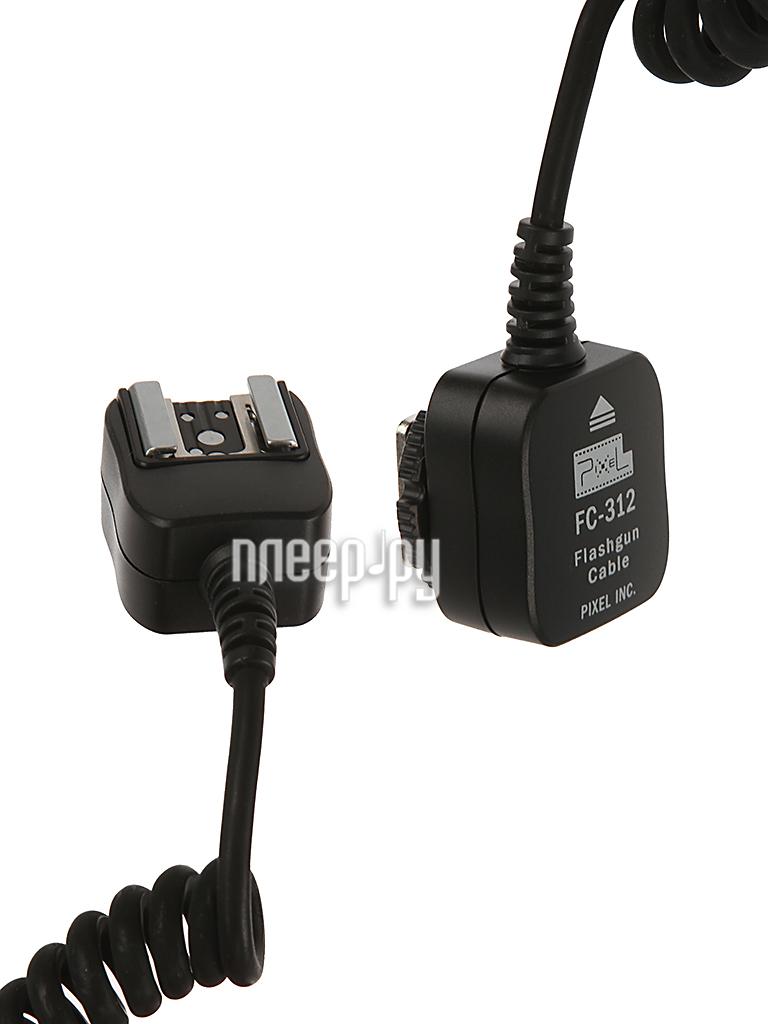 Аксессуар Pixel FC-312/S-1.8M for Nikon TTL - синхрокабель  Pleer.ru  1347.000
