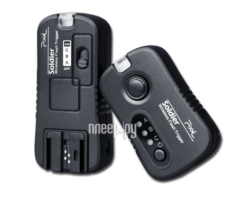 Радиосинхронизатор Pixel Soldier TF-373 Wireless Flash Trigger for Sony  Pleer.ru  1487.000