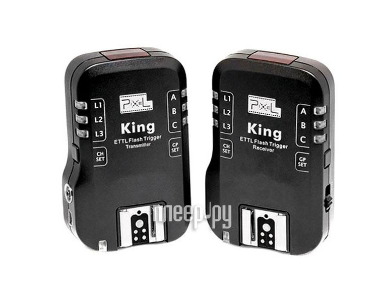 Радиосинхронизатор Pixel King Wireless TTL Flash Trigger for Sony  Pleer.ru  5778.000