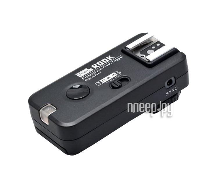 Радиосинхронизатор Pixel Rook F-508 RX Professional Flash Trigger for Nikon  Pleer.ru  1823.000