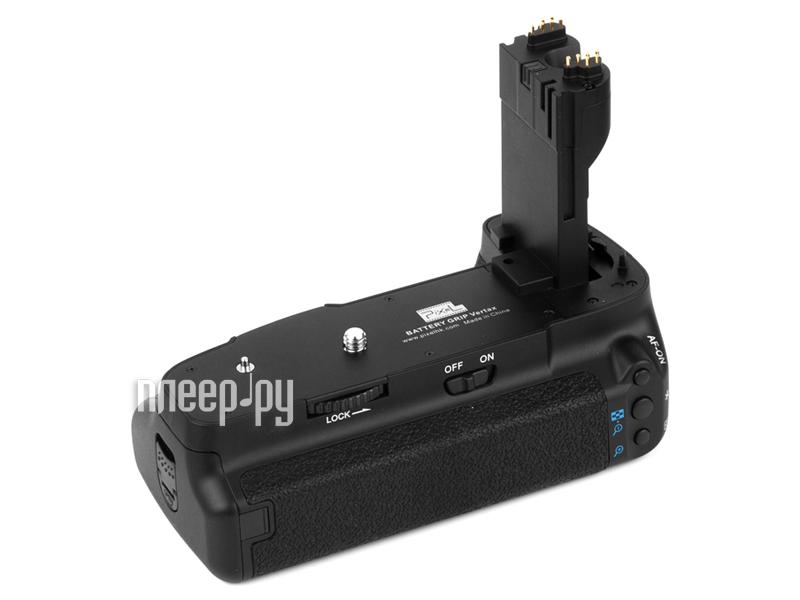 Батарейный блок Pixel Vertax E6 Battery Grip for Canon 5D mark II - питающая рукоятка  Pleer.ru  2592.000