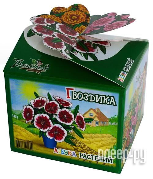 Растение BontiLand Азбука Растений 411609 Гвоздика  Pleer.ru  275.000