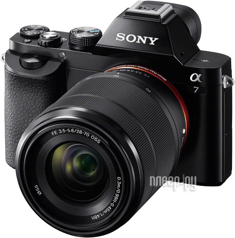 Фотоаппарат Sony Alpha A7 Kit FE 28-70 mm f / 3.5-5.6 OSS