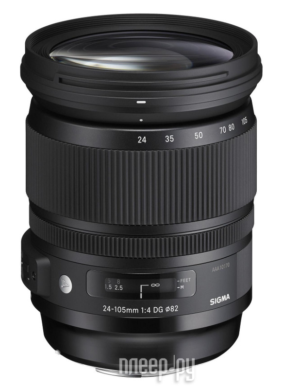 Объектив Sigma Canon AF 24-105 mm F/4.0 DG OS HSM Art  Pleer.ru  29847.000