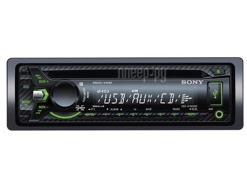 Автомагнитола Sony CDX-G1000UE  Pleer.ru  2084.000
