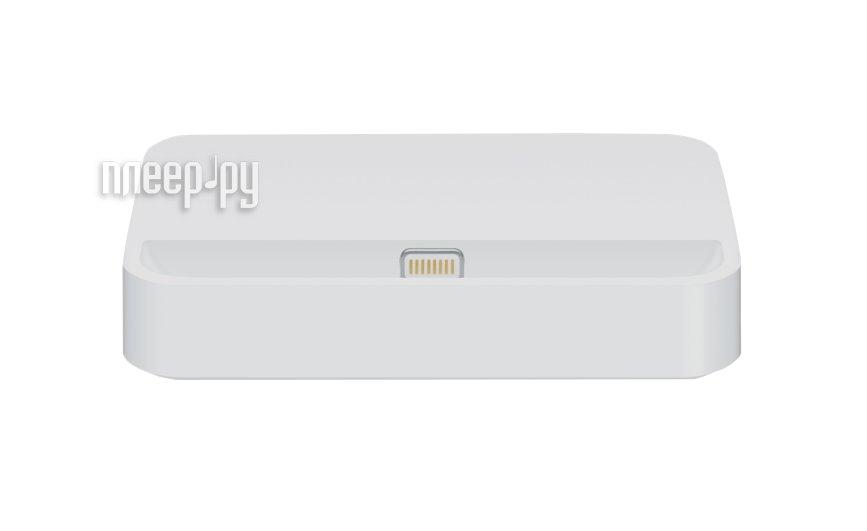 Аксессуар Док-станция Apple iPhone 5S Dock MF030  Pleer.ru  1081.000