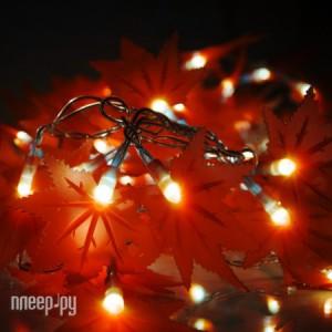 Купить Gauss Кленовые листья 50 светодиодов 5m AC220-240V PH719013703 Red