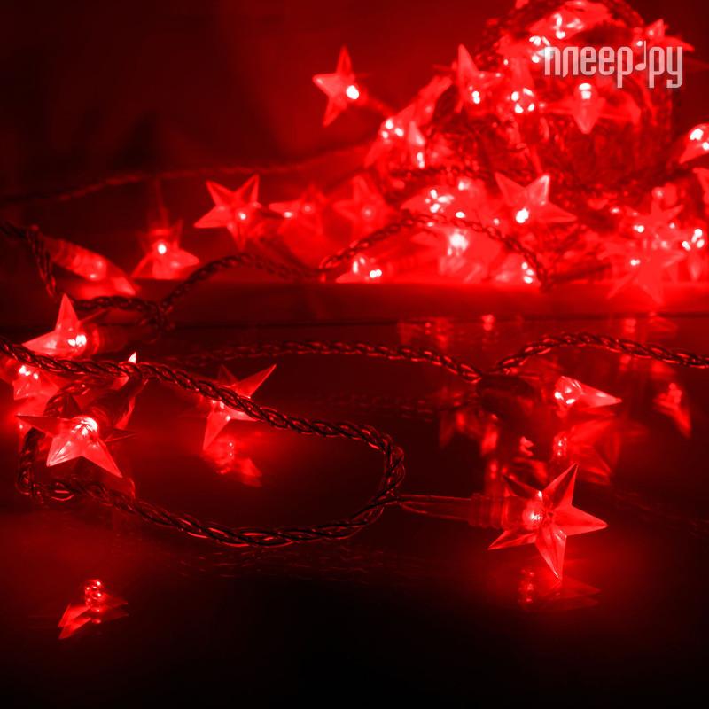 Гирлянда Gauss Цветы вишни 50 светодиодов 5m AC220-240V PH720013703 Red