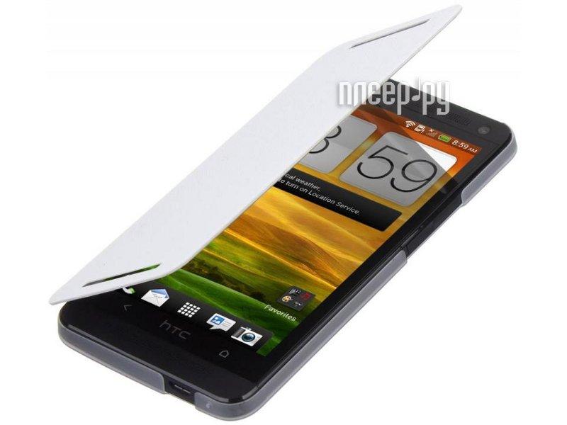 Аксессуар Чехол HTC One Dual SIM HC V844 White  Pleer.ru  680.000