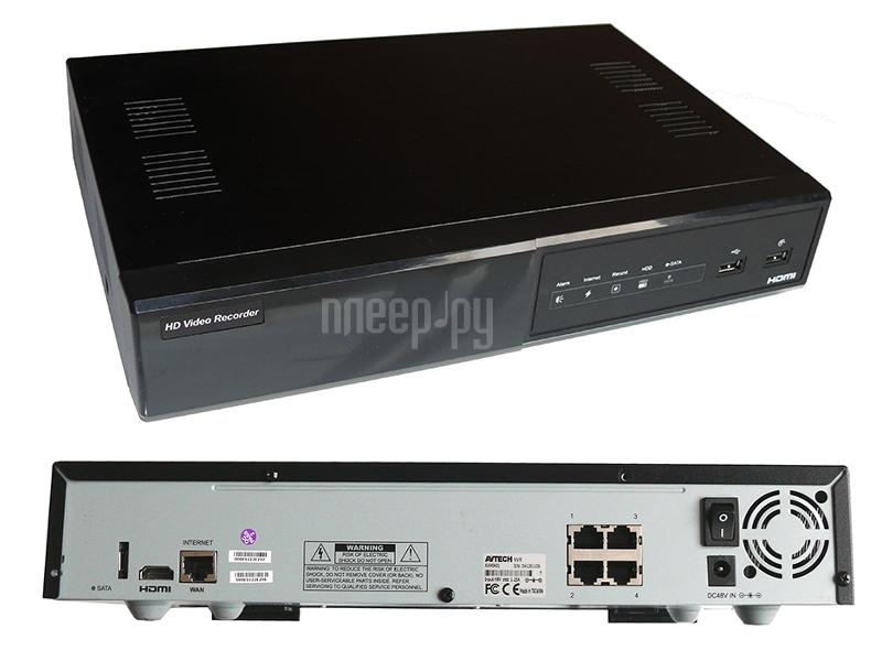 Видеорегистратор AVtech AVH0401  Pleer.ru  8948.000