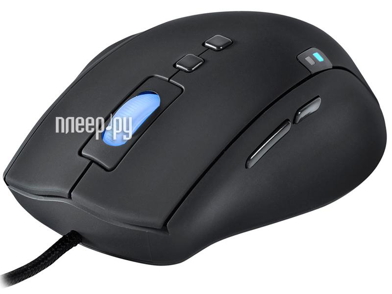 Мышь проводная QPAD 5k Pro Gaming Laser Mouse  Pleer.ru  2897.000