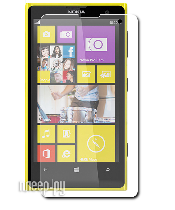 Аксессуар Защитная пленка Nokia Lumia 1020 Ainy глянцевая  Pleer.ru  532.000