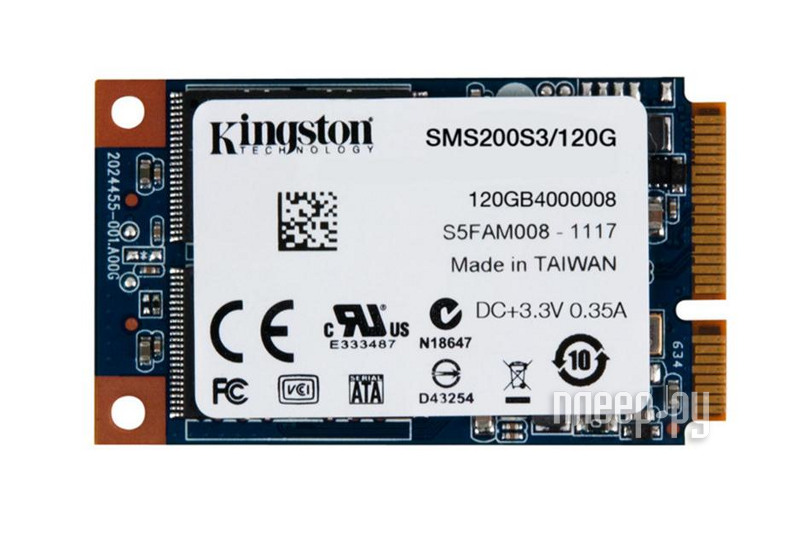 Жесткий диск 120Gb Kingston SSDNow mS200 SMS200S3/120G