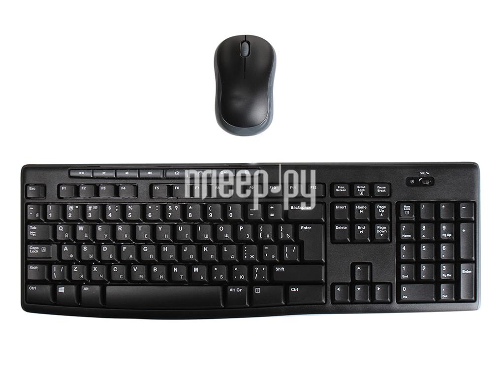 Набор Logitech Wireless Combo MK270 Black 920-004518  Pleer.ru  1147.000