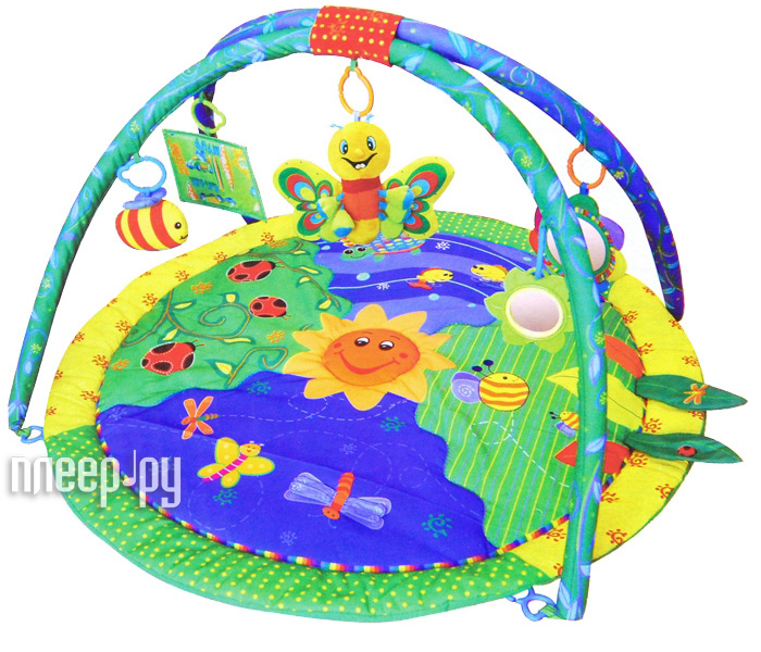 Развивающий коврик La-Di-Da Чудесный сад 90106PM  Pleer.ru  1245.000