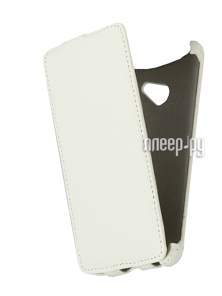Аксессуар Чехол-книжка Huawei Ascend D2 Gecko White  Pleer.ru  200.000