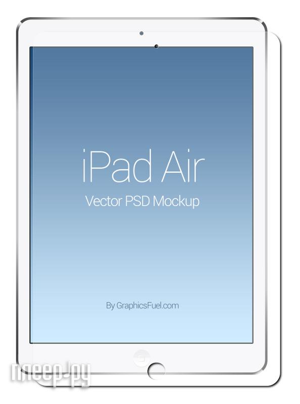 Аксессуар Защитная пленка iPad Air Ainy / Media Gadget Premium / Red Line глянцевая  Pleer.ru  582.000