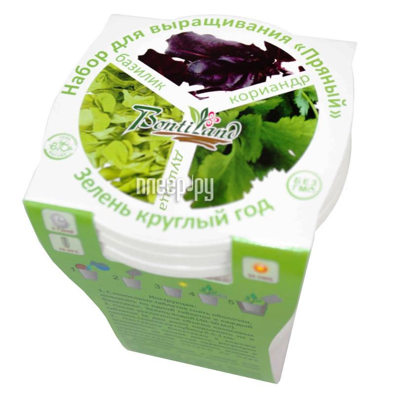 Растение BontiLand Зелень круглый год 412323 Набор Пряный №1  Pleer.ru  272.000