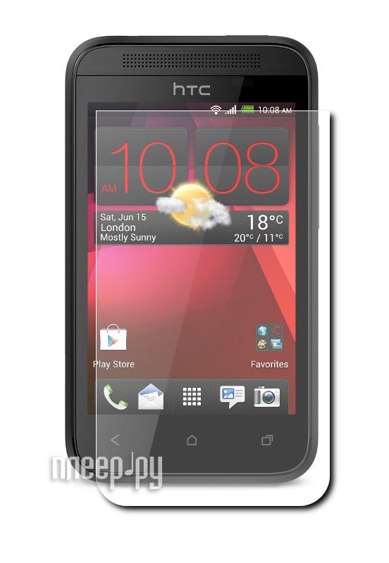 Аксессуар Защитная пленка HTC Desire 200 LuxCase суперпрозрачная 80357  Pleer.ru  94.000