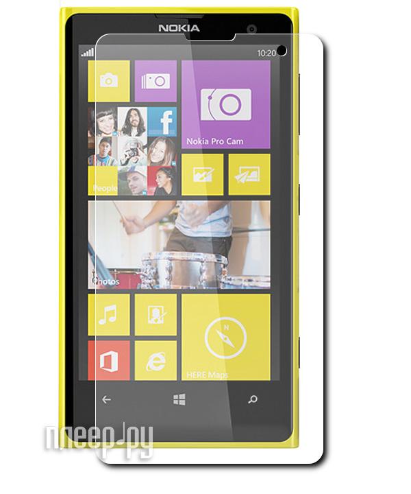 Аксессуар Защитная пленка Nokia Lumia 1020 LuxCase суперпрозрачная 80444  Pleer.ru  94.000