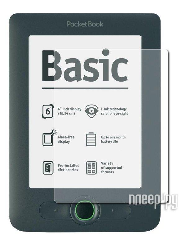 Аксессуар Защитная пленка PocketBook 613 Basic/623 Touch 2 LuxCase антибликовая 50652  Pleer.ru  649.000