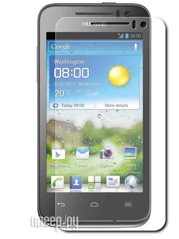 Аксессуар Защитная пленка Huawei Ascend G330 LuxCase антибликовая 51602  Pleer.ru  94.000