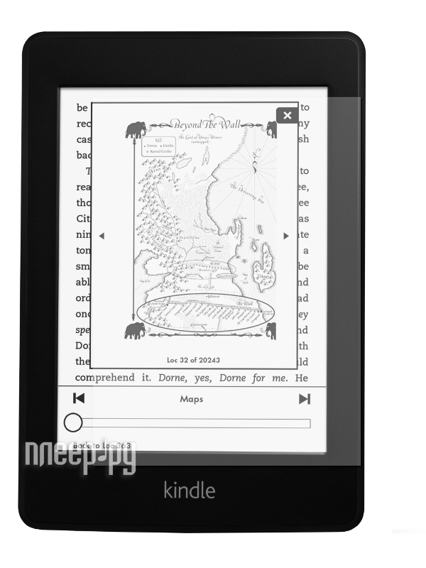 Аксессуар Защитная пленка Amazon Kindle 5 / Paperwhite LuxCase антибликовая 51101  Pleer.ru  649.000