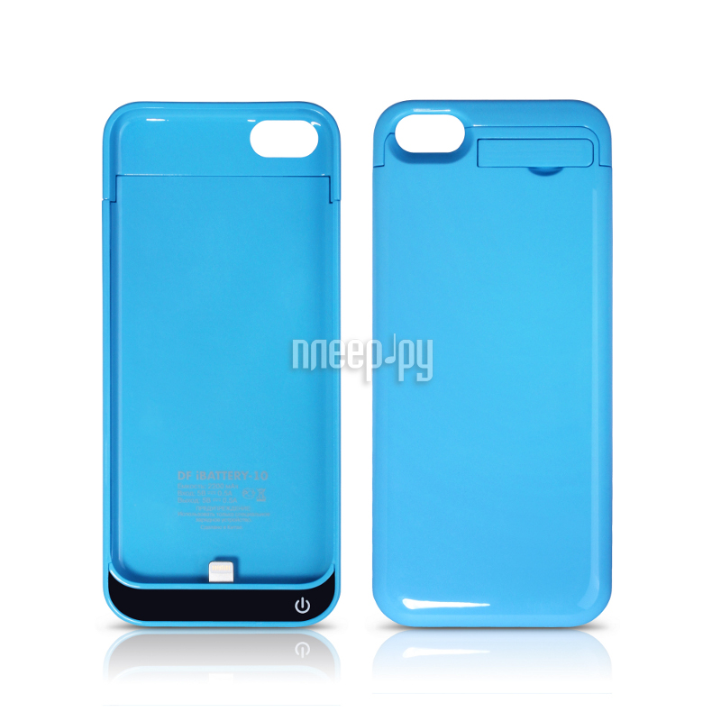 Аккумулятор DF iBattery-10 for iPhone 5C 2200 mAh Blue  Pleer.ru  1250.000