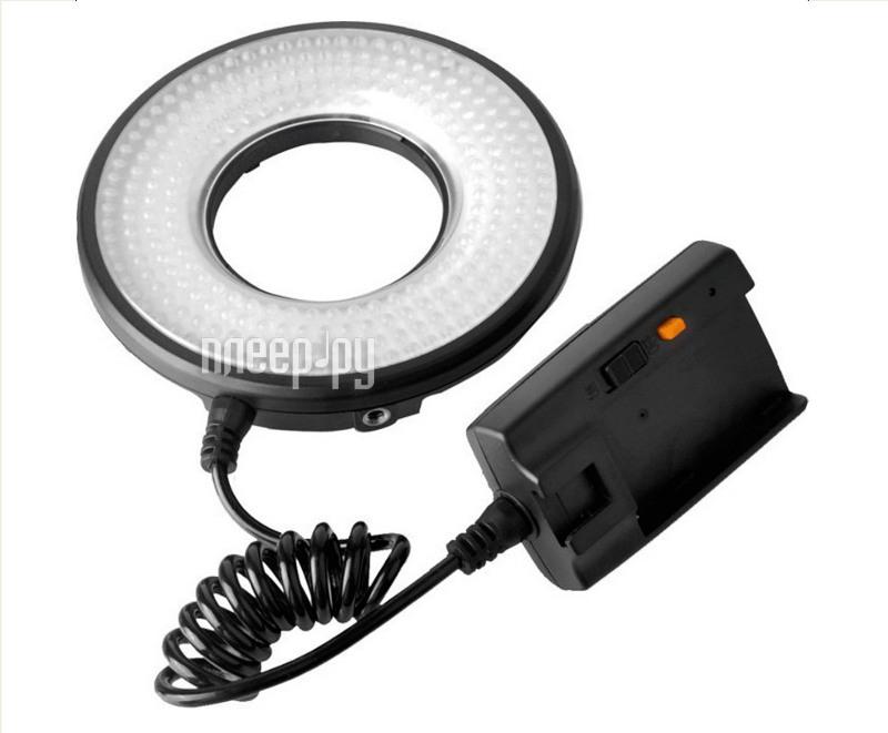 Накамерный свет Fujimi MRC-232 1400lm - кольцевая светодиодная лампа  Pleer.ru  4760.000