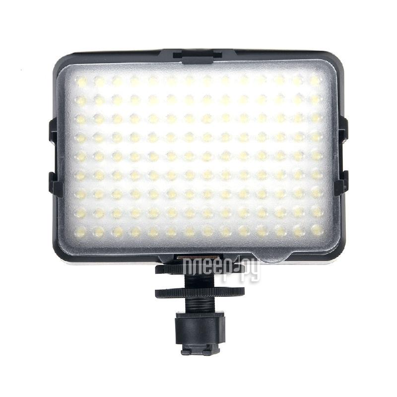 Накамерный свет Fujimi DV-126 756lm - светодиодная лампа  Pleer.ru  2360.000
