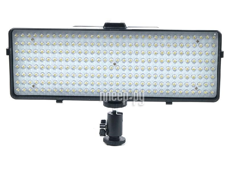 Накамерный свет Fujimi DV-256 1536lm - светодиодная лампа  Pleer.ru  4860.000