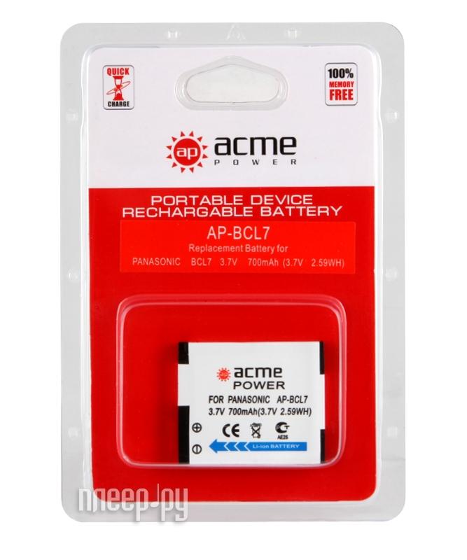 Аккумулятор AcmePower AP BCL7  Pleer.ru  244.000