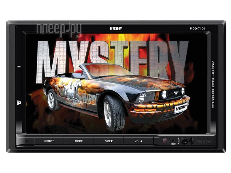 Автомагнитола Mystery MDD-7100  Pleer.ru  3407.000